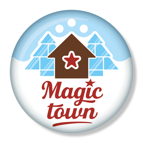 Logo Magic town